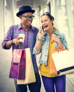 65163751 - people shopping spending customer consumerism concept